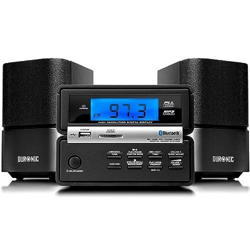 Duronic RCD111 BK Micro Hi-Fi Bluetooth Audio System with CD MP3 CD 8d6fc57f8f96d