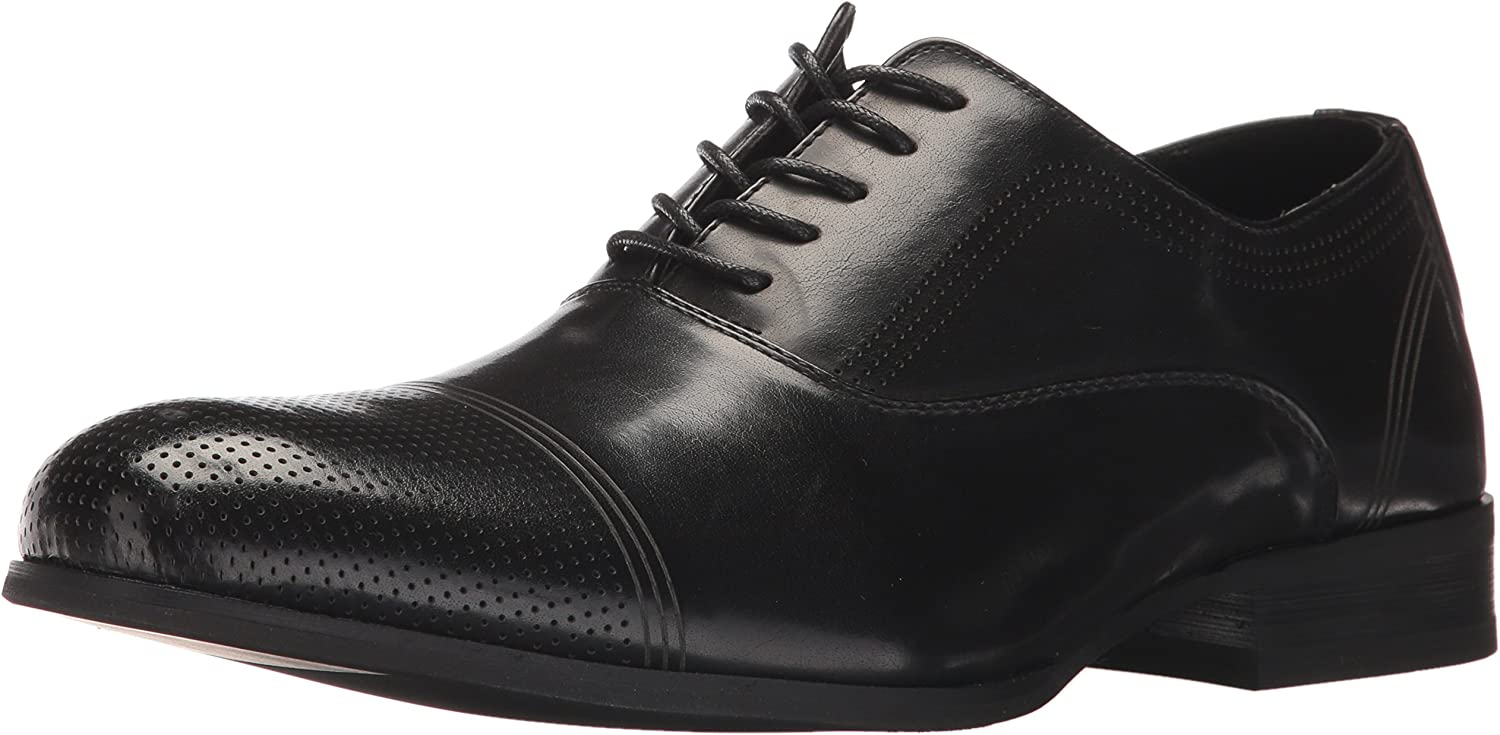 Kenneth Cole Unlisted Men's Steel-Home Oxford