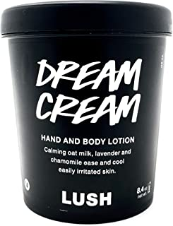 LUSH Dream Cream Hand And Body Lotion, 8.4 Ounce