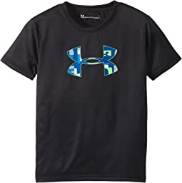 Under Armour Kids - Wordmark Big Logo Short Sleeve Tee (Little Kids/Big Kids)