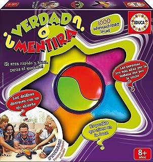 Educa- Juego ¿Verdad O Mentira, Multicolor, Talla Única (