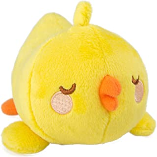 Molang Piu Piu, Sleeping, Plush, Soft Toy, Great Gift for Kids from 3+ Years, Children's Stuffed Animal Toy, Small, Approx. 8cm