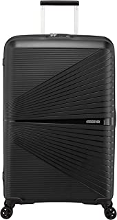 American Tourister Airconic Hardside Spinner Suitcase, 77 Centimeter, Onyx Black