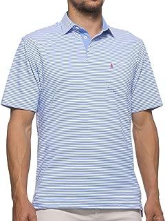 johnnie-O Men's Harper Striped 3-Button Polo
