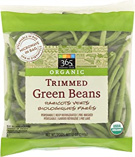 365 Everyday Value, Organic Trimmed Green Beans, 12 oz