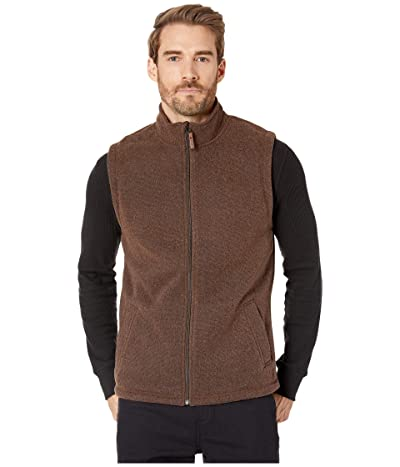 Smartwool Hudson Trail Fleece Vest (Bourbon Heather) Men