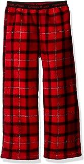 Calvin Klein Boys' Ck Logo Waistband Plush Sleep Pant