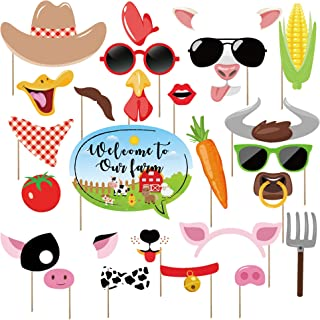 farm themed photo props