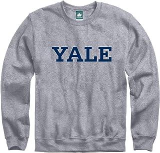 Ivysport Crewneck Sweatshirt, Classic Logo, Premium Grey Heavyweight Cotton Blend