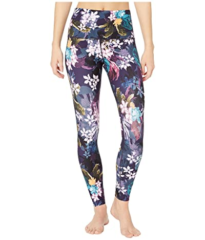 Lorna Jane Hyperbloom Secret Pocket Full-Length Leggings (Hyperbloom Print) Women