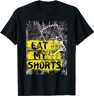 The Simpsons Bart Simpson Eat My Shorts Graffiti T-Shirt