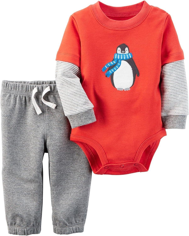 Carter's Baby Boys' Bodysuit Pant Sets