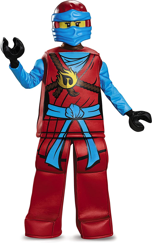 Disguise Lego Ninjago Spinjitzu Kai Prestige Child Boys Halloween Costume 99084
