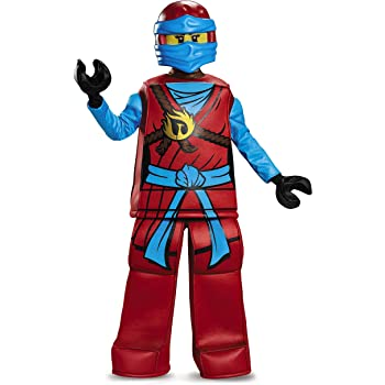 Disguise Nya Prestige Ninjago Lego Costume, Medium/7-8 by Disguise ...