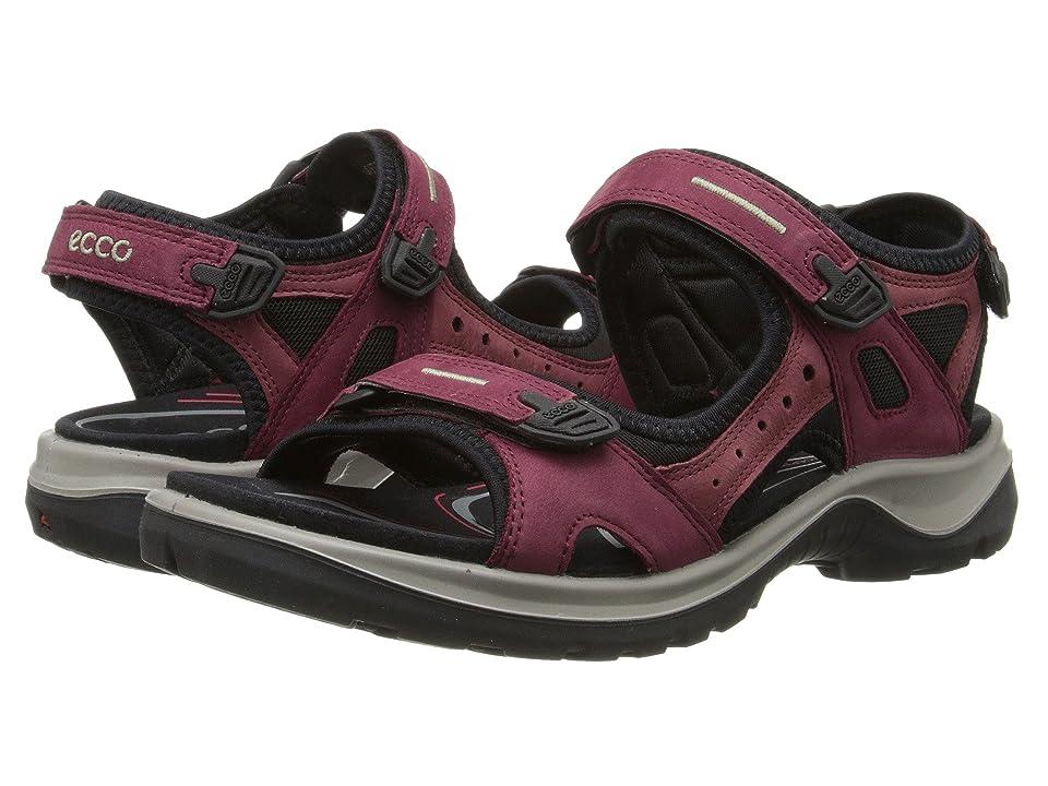 ECCO Sport Yucatan Sandal (Morillo/Port/Black) Women