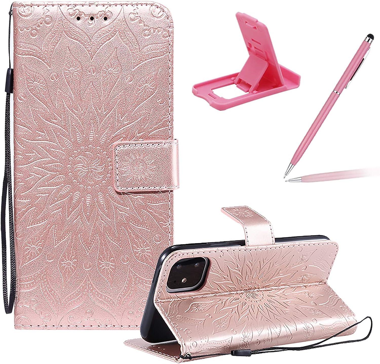 Cute Wallet Case for Cheap SALE Start iPhone Flip Strap 12 5.4