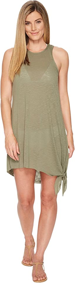 Breezy Basics Keyhole Dress Cover-Up