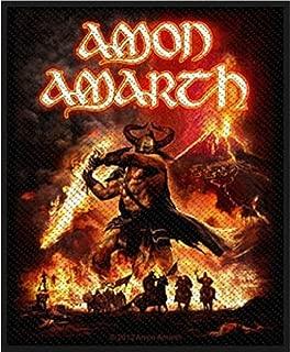 Amon amarth-viking horde  patch /à coudre tiss/é sP2658