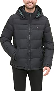 Men's Classic Hooded Puffer Jacket (Regular and Big &...