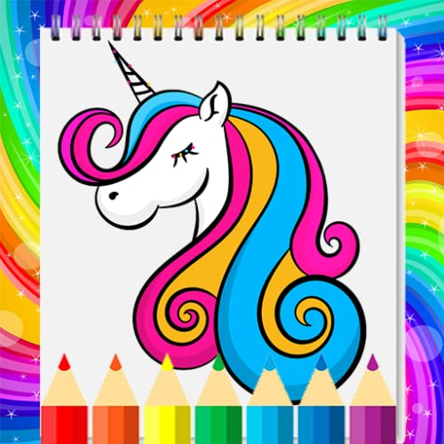 Free Unicorn Coloring Book For Kids