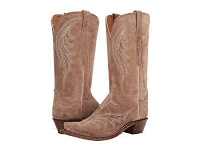 Lucchese Margot (Tan Italian Suede) Women
