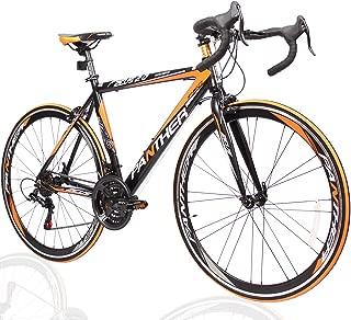 PANTHER (パンサー) ロードバイク 5色/3サイズ可選 シマノ21段変速 超軽量異型アルミフレーム 700C×25C 適応身長160cm以上 前後ホイールクイックリリー...