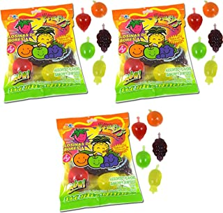 Din Don Fruity's JU-C Jelly Fruit Snacks Pack of 3