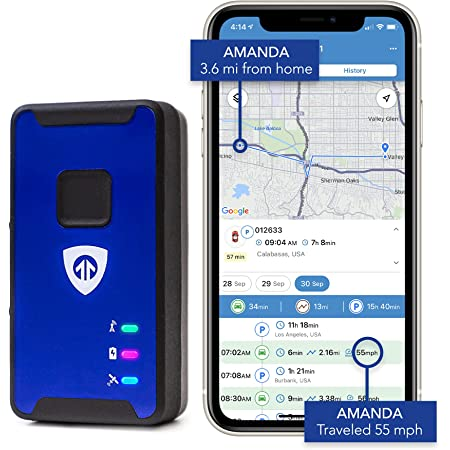 Brickhouse Security Spark Nano 7 LTE Micro GPS Tracker for Covert Monitoring of Teen Drivers, Kids, Elderly, Employees, Assets. Subscription Required!