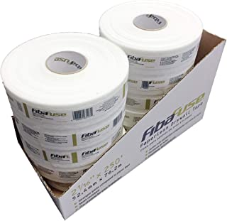 Adfors FibaFuse FDW8652 Paperless Drywall Joint Tape 2 in. x 250 ft. White, Pack of 10