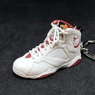Air Jordan VII 7 Retro Hare Bugs Bunny OG Sneakers Shoes 3D Keychain 1:6 Figure