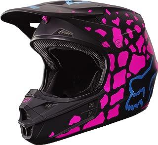 2017 Fox Racing V1 Grav Helmet-Black/Pink-XS