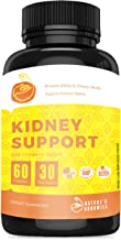 Kidney Cleanse   Detox and Cleanse for Kidneys, Bladder and Urinary Tract Health   Best Cranberry Supplement to Boost Kidney Health with Cranberry Extract, Uva Ursi, Astragalus   60 Capsules