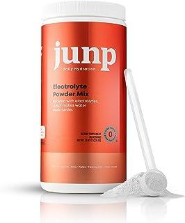 JUNP Hydration Electrolyte Powder, Electrolytes Drink Mix Supplement, Zero Calories Sugar and Carbs, Kosher, Peach Flavor,...