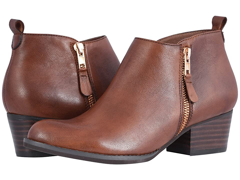 Vaneli Baxy (Dark Tan Leather) Women