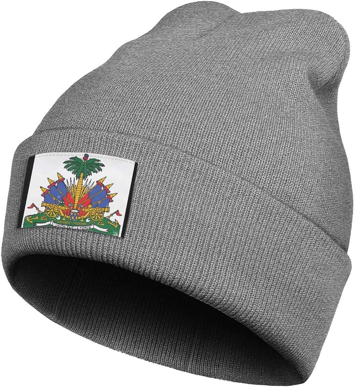 coolgood Beanie Hat Rare for Men's Boston Mall Haiti-Flag-Emblem-Rea-Hait Women's