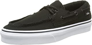VANS ZAPATO DEL BARCO CASUAL SHOES 4 Men US / 5.5 Women US (BLACK/TRUE WHITE)
