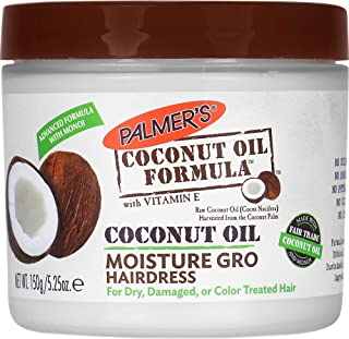 Palmer's Coconut Oil Formula Moisture Gro Hairdress Jar, 5.25 ounce