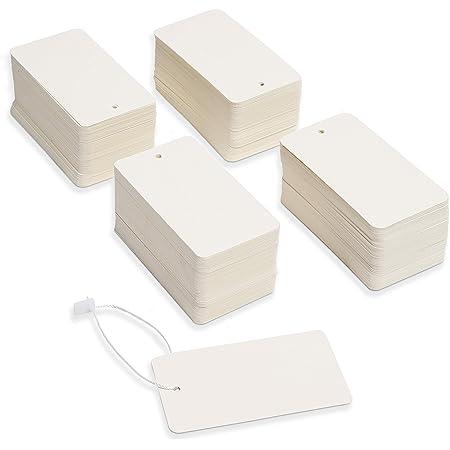 24 white whalenautical tags