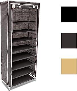 comprar comparacion Relaxdays - Armario para Zapatos/Zapatero de 9 Pisos Hecho de Polipropileno, 36 Pares de Zapatos, 30 x 60 x 151 cm, Color ...