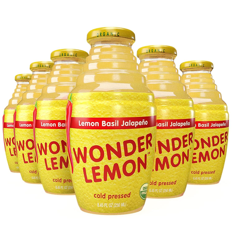 Wonder Lemon 100% Organic Basil A Juice Luxury goods surprise price is realized Jalapeno Water No