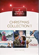 Hallmark Hall of Fame Christmas Collection #1 3 DVD Set (November Christmas / A Season for Miracles / A Dog Named Christmas)
