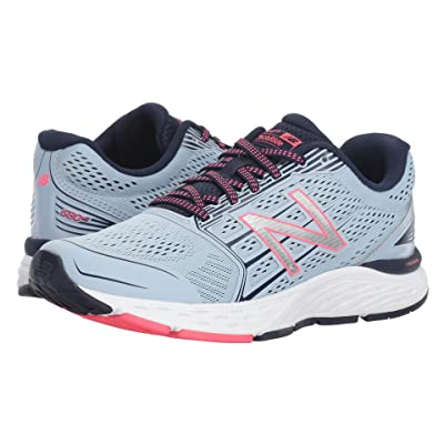 New Balance 680v5 (Ice Blue/Pigment) Women