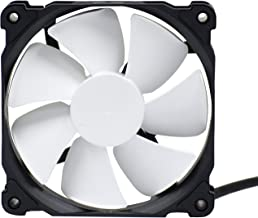 Phanteks 120mm, PWM, High Static Pressure Radiator Retail Cooling Fan PH-F120MP_BK_PWM,Black/White