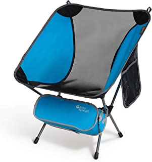 P&J Trading EyrieLight Outdoor Chair – Compact and Lightweight for Backpacking, Camping, Hiking, Beach, Festivals, Tailgat...
