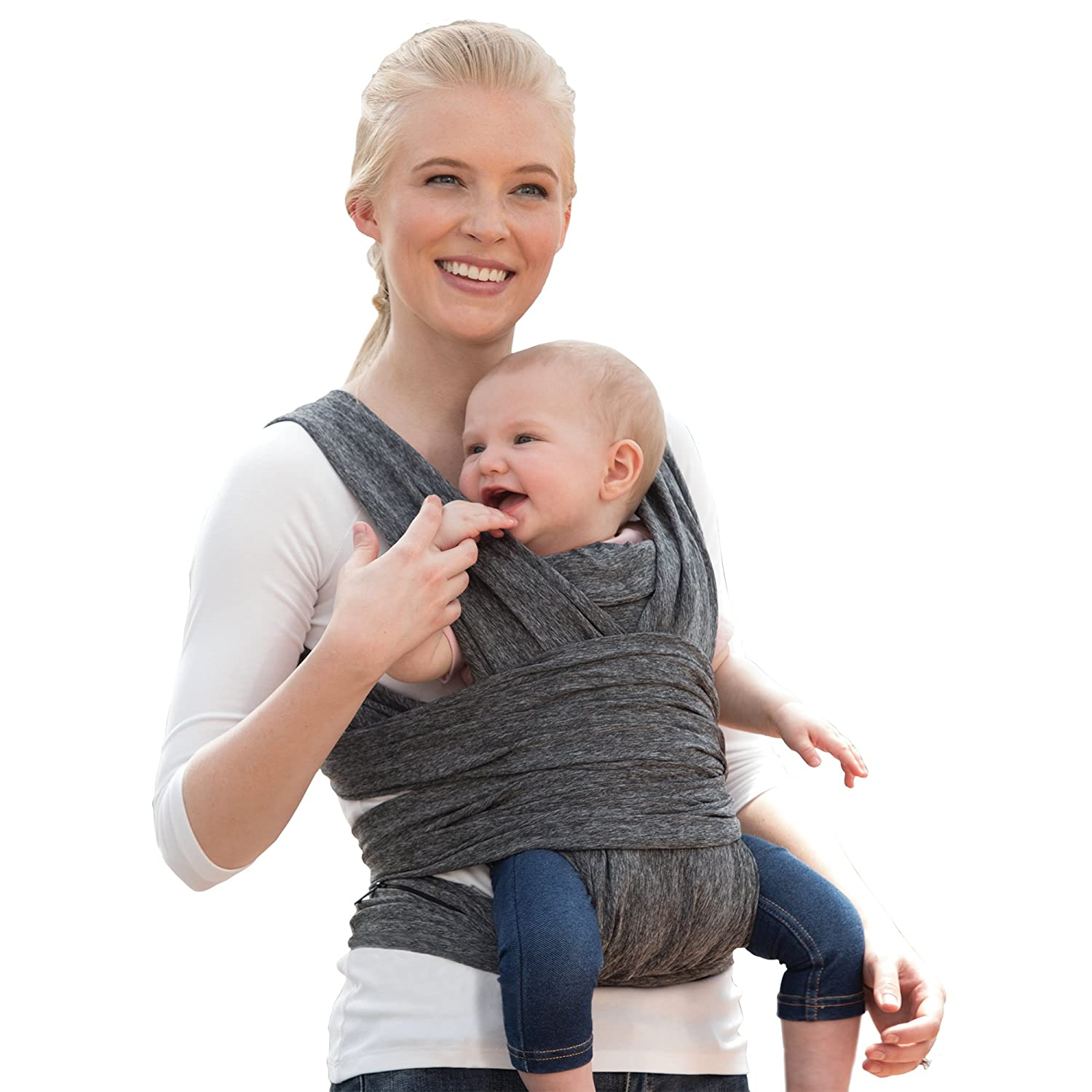 Gorgeous Fees free!! Boppy ComfyFit Hybrid Baby Carrier Heathered Gray
