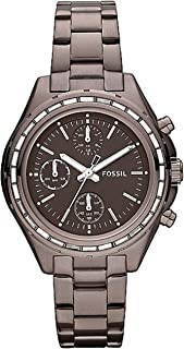 Fossil Dylan Stainless Steel Watch - Brown