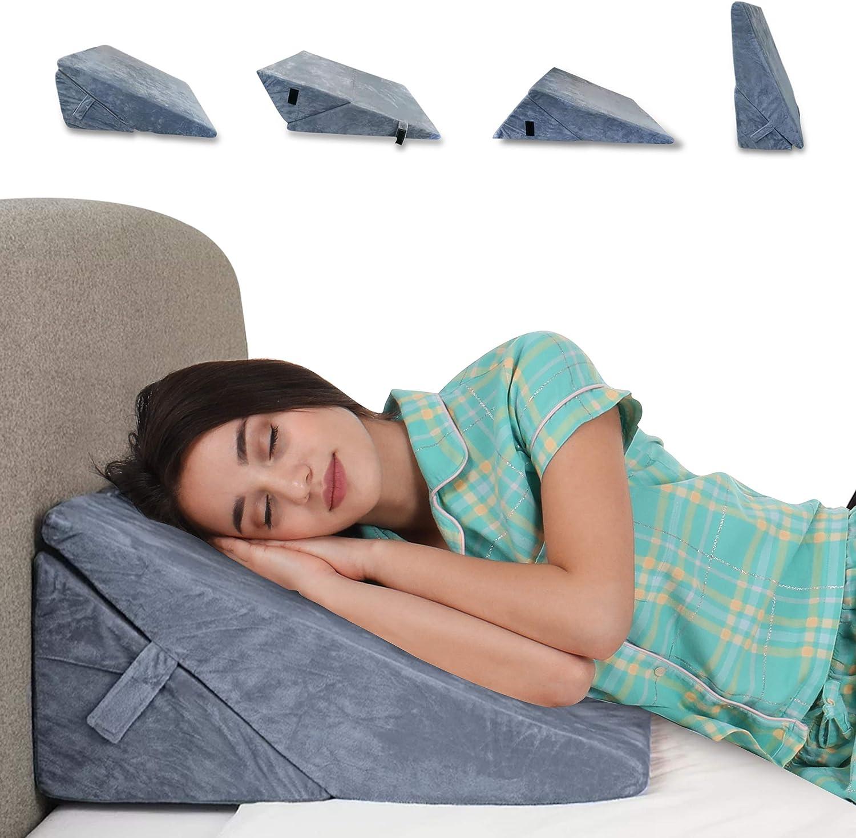 LuxLiv Wedge Ranking TOP4 Pillow Premium Portland Mall Foam Family Folding