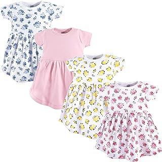 Qiraoxy Baby Girl Fashion Summer Dress Toddler Newborn Polka Dot Mesh Sleeve Sleeveless Dress Cotton Clothes for 3-18M