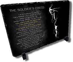 Redeye Laserworks Soldiers Creed Stone Plaque from