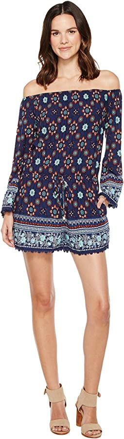 Brigitte Bailey - Kasondra Off the Shoulder Romper